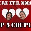 Top Five Couples in MMA
