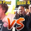 MMA DRAMA: Nick Diaz & Slap For Cash Confront Logan Paul Outside UFC